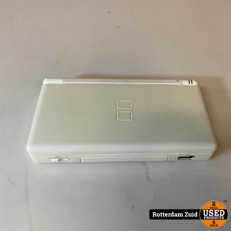 Nintendo DS Lite wit   met garantie   
