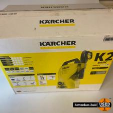 Karcher K2 Basic Hogedruk reiniger + car Kit || in doos met garantie ||