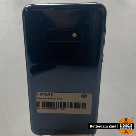Samsung Galaxy S10e    Nette staat- Met Garantie   
