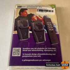 KlikAanKlikUit Schakelset AGD2-3500R voor Buiten met Afstandsbediening 2x || nieuw