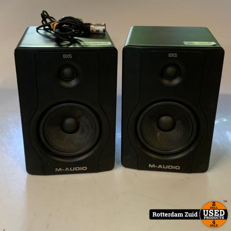 M-Audio BX5 D2 Speakers | Set van 2 | Met garantie