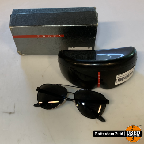 Prada SPS54t Zonnebril | In hoes en doos | Met garantie