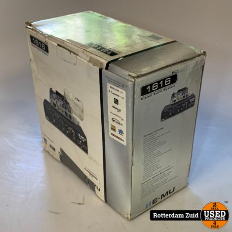 Emu 1616 Geluidskaart + controller | In doos | Met garantie