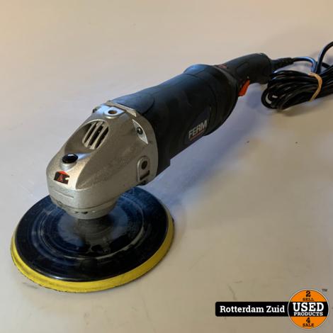 Ferm polijstmachine AGM1037 | Met garantie