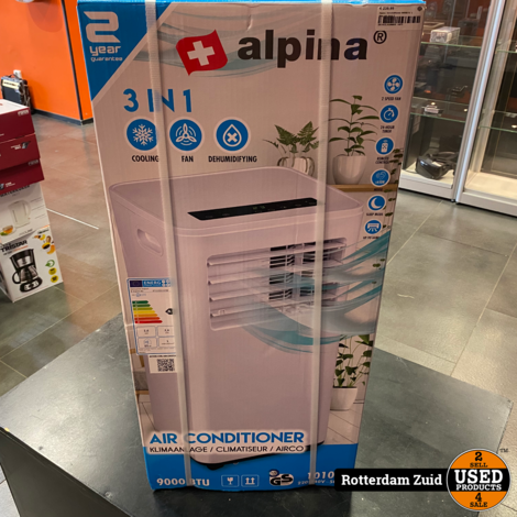 Alpina  Airconditioner 9000BTU  || Nieuw in doos ||