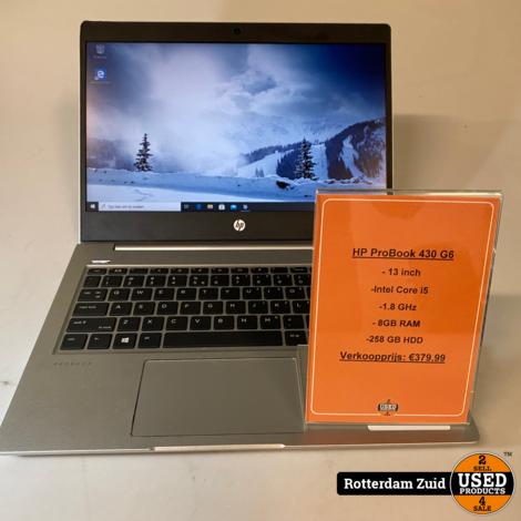HP ProBook 430 G6 | i5 | 8GB | 256GB || 2 jaar garantie ||