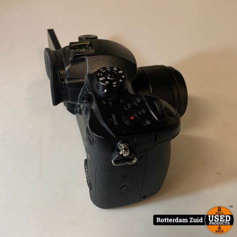 Panasonic Lumix DMC-GH5 body + 25mm lens    zonder lader    met garantie   