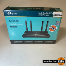 TP-Link Wifi 6 AX3000 Wifi-router, Dual Band AX-router, || NIEUW IN DOOS ||