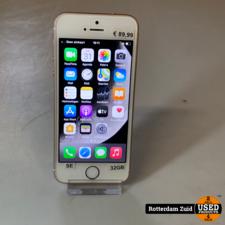iPhone SE 32GB Rose Gold     nette staat met garantie   