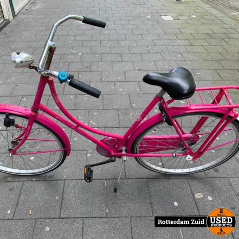 Roze fiets | Met garantie