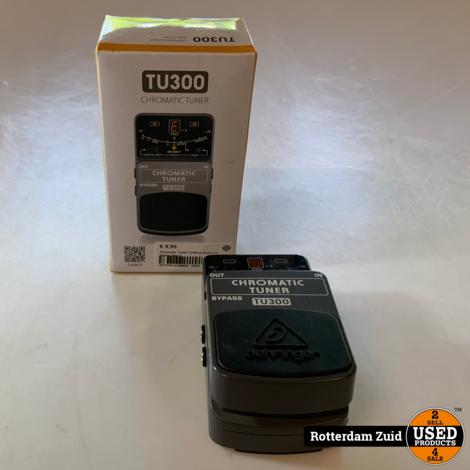 Chromatic Tuner Tu300 | In doos | Met garantie