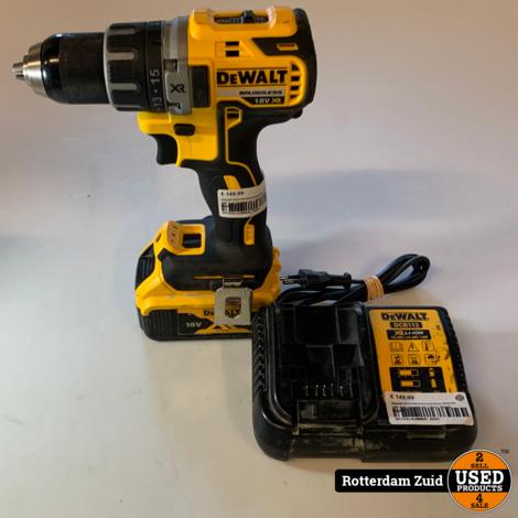 Dewalt Schroef-boormachine DCD791 18V | Accu + lader | Met garantie