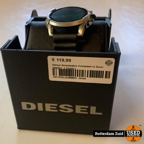 Diesel DW6D1 Smartwatch | In doos | Met garantie