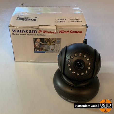 Wanscam Ip Camera | Geschikt voor android en iPhone | In doos | Met garantie