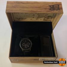 Black And Gold BNG-002 horloge   In doos   Met garantie