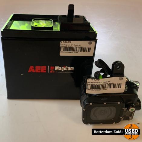 AEE Magicam S71 actioncam touch 4K   In doos   Met garantie