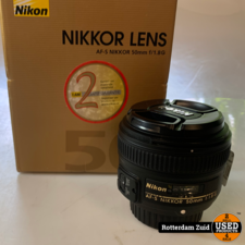 Nikon Lens  AF-S Nikkor 50 mm 1:1.8 G   In doos   Met garantie