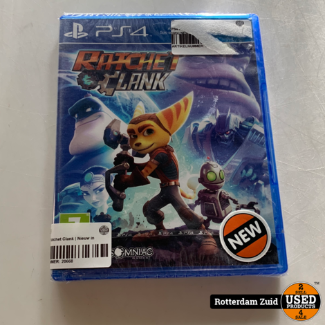 PS4 game   Ratchet Clank   Nieuw in seal