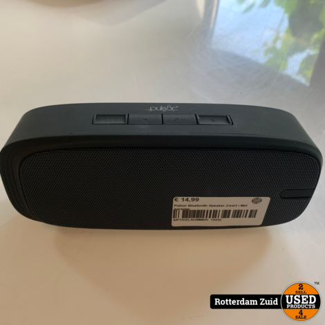 Pulsar Bluetooth Speaker Zwart | Met garantie