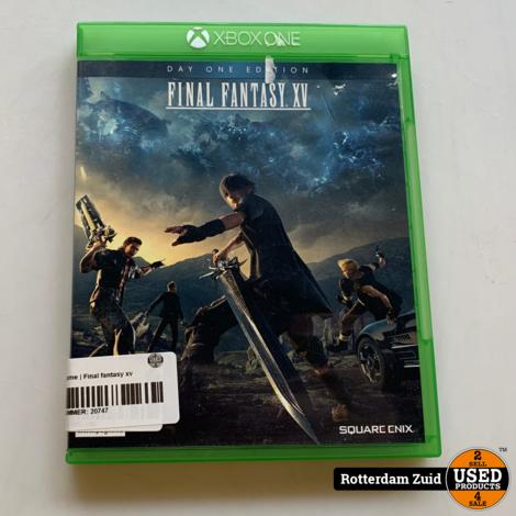 Xbox One game   Final fantasy xv