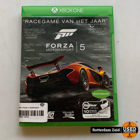 Xbox One game   Forza 5 motorsport