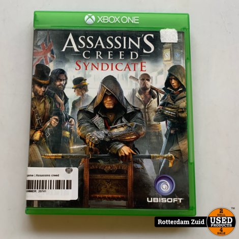 Xbox One game | Assassins creed syndicate