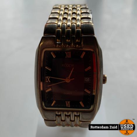 Rexxor horloge goud/zilver | Gebruikt | Met garantie