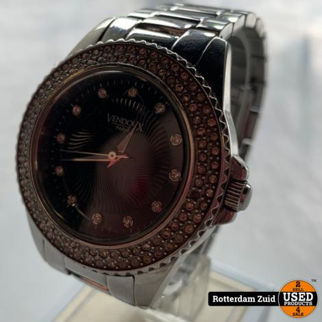 Vendoux Paris horloge zilver | Met garantie