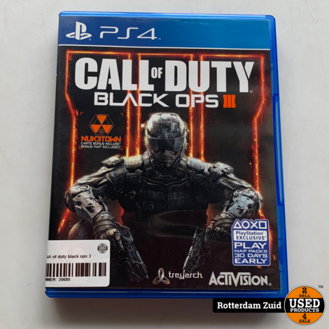 PS4 game | Call of duty black ops 3