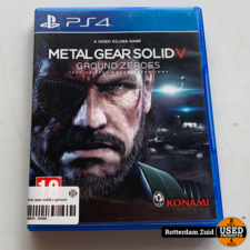 PS4 game   Metal gear solid v ground zeroes