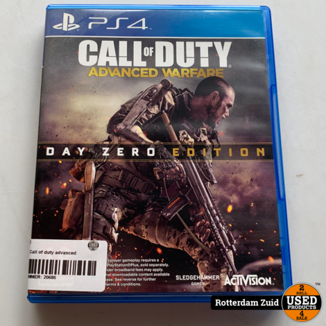 PS4 game | Call of duty advanced warfare