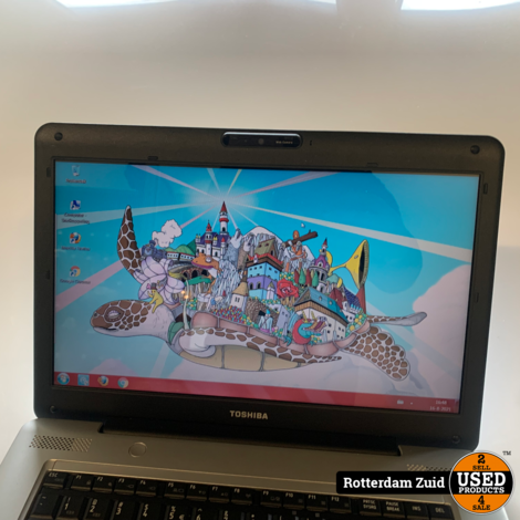 Toshiba Satellite laptop | Gebruikt | Met garantie