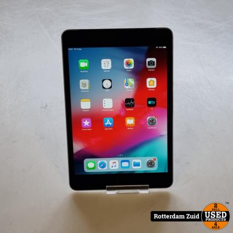 iPad Mini 4 16GB WiFi 4G space gray   Met garantie