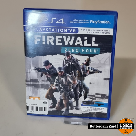 PS4 game   Firewall zero hour