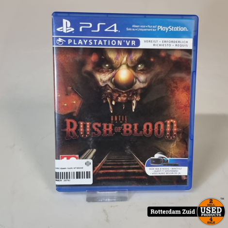 PS4 game | Until dawn rush of blood