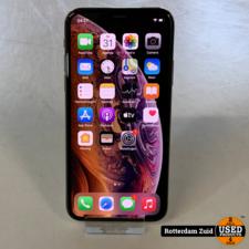 iPhone XS 64GB Goud    in nieuwstaat met garantie   