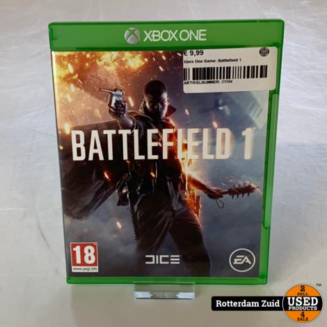 Xbox One Game: Battlefield 1