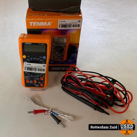 Tenma 72-10390A , Digital Multimeter   Goede Staat   Met Garantie