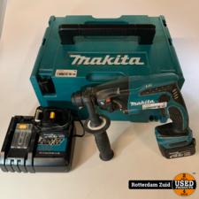 Makita BHR162 Boormachine + 2x accu + lader || met garantie ||