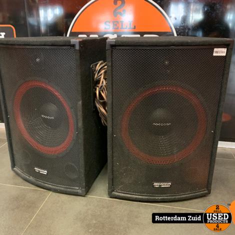2X Set JB Systems TSX Series 2 luidsprekers | Goede Staat | Met Garantie