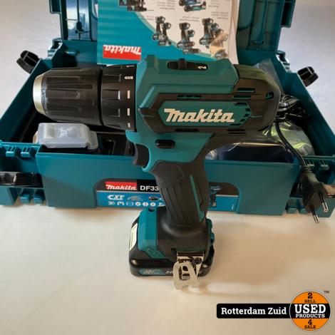 Makita DF333DSAJ Accuboormachine 2x batterij + lader || Nieuw in doos ||