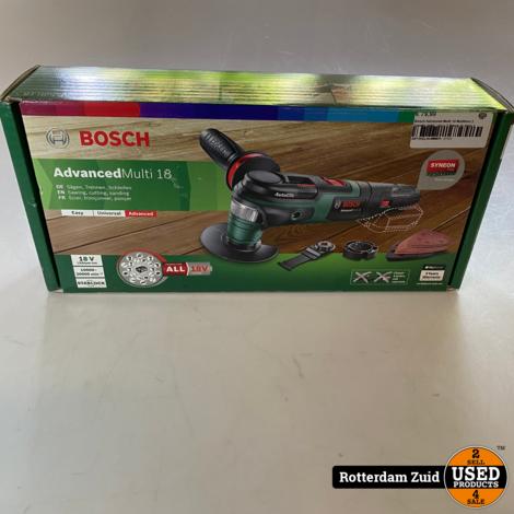 Bosch Advanced Multi 18 Multitool || Zonder lader / accu || Nieuw in doos ||