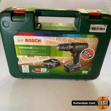 Bosch accuschroefboormachine UniversalDrill 18V | Nieuw in Koffer