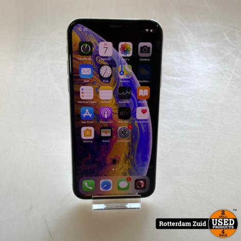 iPhone XS 64GB Wit    in nette staat met garantie   