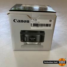Canon 50mm lens    in nieuwstaat met garantie   