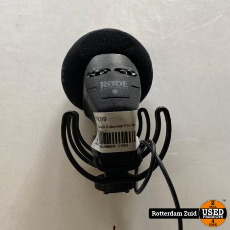 RODE Stereo Videomic Pro Rycote || Met garantie ||