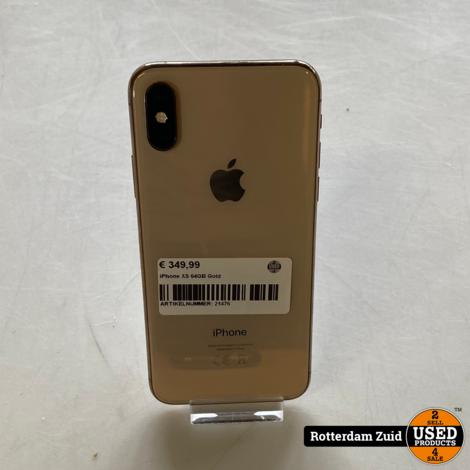 iPhone XS 64GB Gold || in nette staat met garantie ||