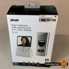 Alecto ADI-250 Deurintercom met camera Wit/zilver    Nieuw in doos   