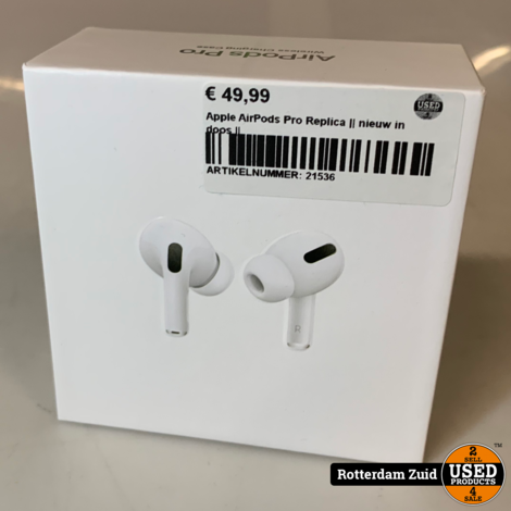 Apple AirPods Pro Replica || nieuw in doos ||