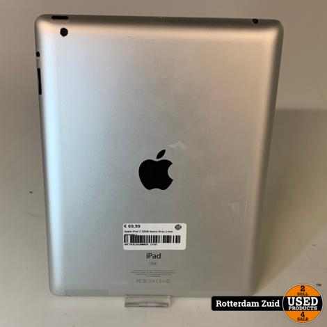 Apple iPad 2 32GB Space Gray || met garantie ||